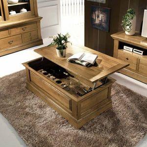 MEUBLE HOUSE - table basse bar 1414849 - Tavolino Bar Soggiorno