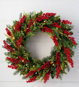 BALSAM HILL - baies sauvages - Corona Di Natale