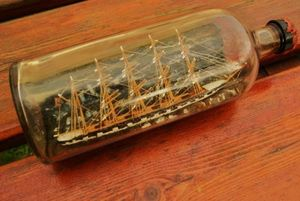 La Timonerie Antiquités marine -  - Modellino Barca