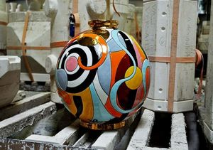 EMAUX DE LONGWY 1798/FRAGRANCE -  - Sfera Decorativa