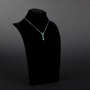 Expertissim - collier or et émeraudes, env. 5.5 cts - Collana