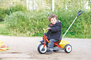 Kettler - tricycle startrike avec canne poussoir 78x54x50cm - Triciclo
