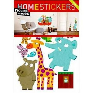 Nouvelles Images - stickers adhésif arche de noé nouvelles images - Sticker