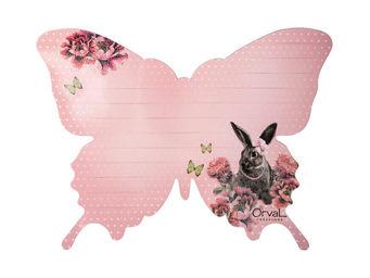 Orval Creations - mémo magnétique papillon contes du temps passé - Calamita Per Elettrodomestici