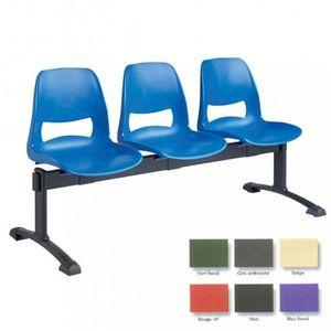 Sedie su barra per sala d'attesa
