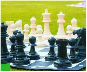 Traditional Garden Games - jeu d'échecs de jardin géant 89x89cm - Gioco Di Società
