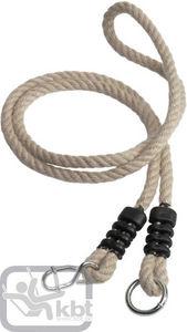 Kbt - rallonge de corde en chanvre synthétique 1,35m à 2 - Attrezzi Ginnici