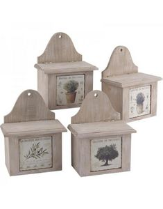 Aubry-Gaspard - boite en bois provence - Scatola Decorativa