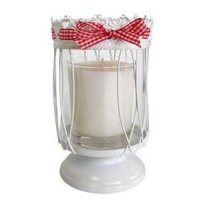 CÉCILIA - photophore sur pied esprit campagne - cécilia créa - Bicchiere Portacandela