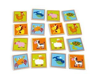Scratch - memo funny animals - Gioco Educativo