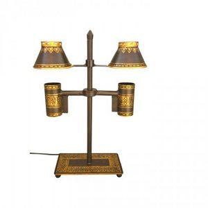 Demeure et Jardin - lampe de bureau double - Lampada Per Scrivania