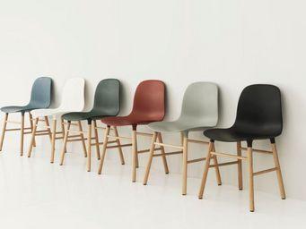 Normann Copenhagen - form chair - - Sedia Per Sala D'attesa