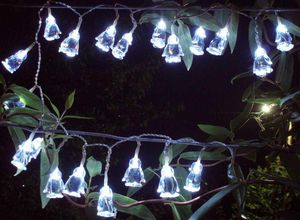 FEERIE SOLAIRE - guirlande solaire 20 leds blanches pingouins 3m80 - Ghirlanda Luminosa