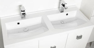 Allibert -  - Mobile Con Doppio Lavabo
