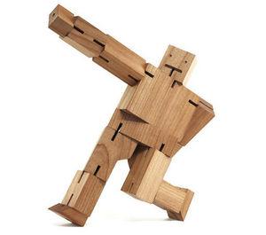 Pop Corn - cubebot - Giocattolo In Legno