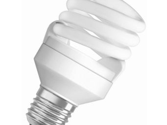 Osram - ampoule fluo compacte spirale e27 2500k 14w = 60w  - Lampada Fluorescente Compatta