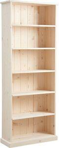 Aubry-Gaspard - bibliothèque bois brut - Libreria
