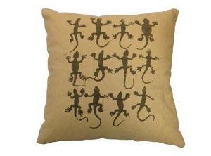 SHOW-ROOM - lizard print - Cuscino Quadrato