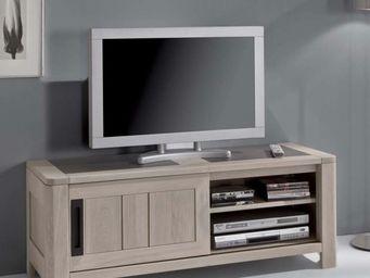Ateliers De Langres - meuble tv deauvil - Mobile Tv & Hifi