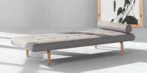 INNOVATION - napper méridienne lit innovation living gris clair - Chaise Longue