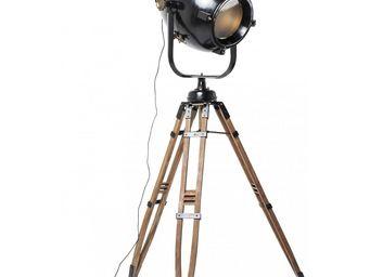 Kare Design - lampadaire manufactory 218cm - Lampada Da Terra Treppiede