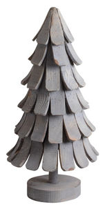 Aubry-Gaspard - sapin en pin patiné - Statuetta