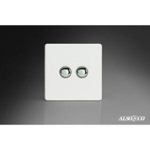 ALSO & CO - double push switch - Interruttore Doppio