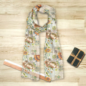 la Magie dans l'Image - foulard flow - Foulard Quadrato