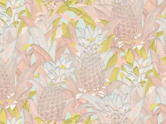 THEVENON - tropical klang rose - Tessuto D'arredamento