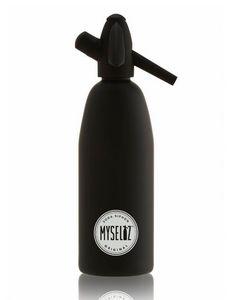 MYSELTZ - matt black - Sifone Soda Seltz