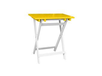 City Green - petite table pliante rectangulaire burano - 65 x 4 - Tavolo Da Giardino Pieghevole