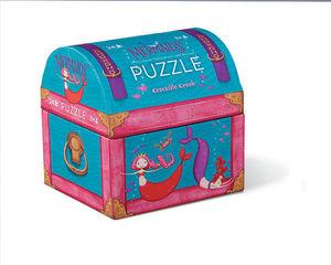 BERTOY - 24 pc mini double fun mermaids - Puzzle Per Bambini
