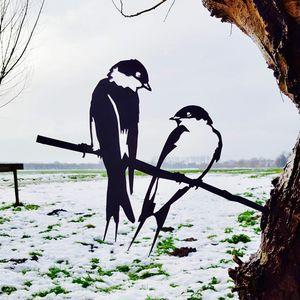 Silhouette di uccello