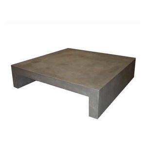 Mathi Design - table basse beton u - Tavolino Quadrato
