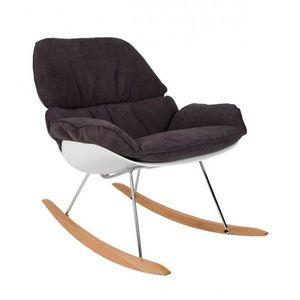 Mathi Design - fauteuil à bascule rocky - Sedia A Dondolo