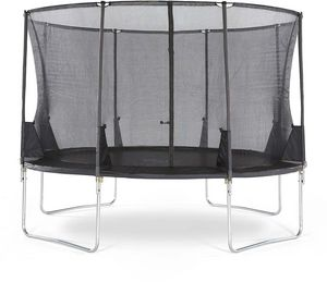Plum - trampoline avec filet innovant 3g spacezone 366 cm - Trampolino Elastico