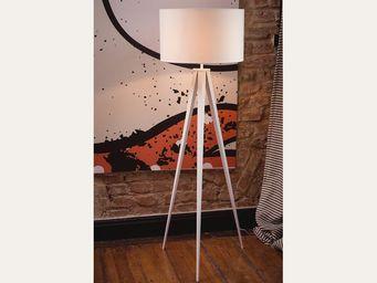 BELIANI - lampadaire - Lampada Da Terra Treppiede