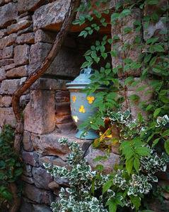 Le Chêne Vert - photophore - Porta Candela Da Esterno