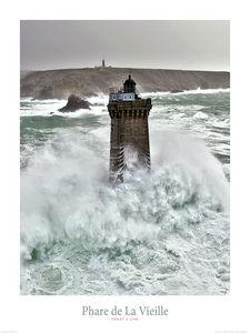 Pêcheur D'Images - le phare de la vieille  - Poster