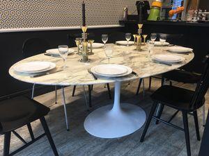 L'atelier 50 -  - Tavolo Da Pranzo Ovale