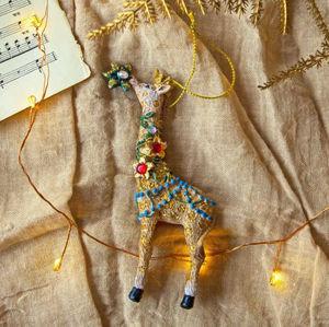 Graham & Green - girafe - Decorazione Natalizia