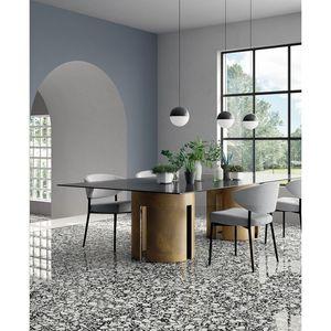 CasaLux Home Design - carrelage grès cérame effet terrazzo poli shards - Pavimentazione In Gres