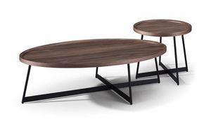 MAISONS DU MONDE - table de repas ovale 1419589 - Tavolo Da Pranzo Ovale
