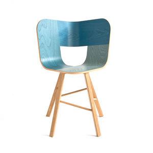 COLE - tria wood 4 chair - Sedia