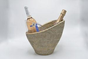 ROTIN ET OSIER - corazon - Secchiello Per Champagne