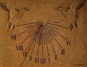 Cadran solaire Philippe Langlet -  - Meridiana