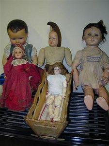 Brad Meubles - poupées anciennes - Bambola