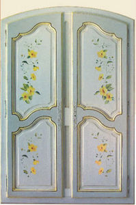 Ebenisterie D'art Bertoli - placard regence - Anta Armadio A Muro