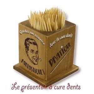 DECO D'AMBIANCE - boiite cure dent - Stuzzicadenti