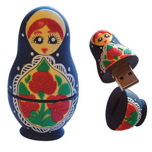 DCI GIFT - babushka doll flashdrive - Chiavetta Usb